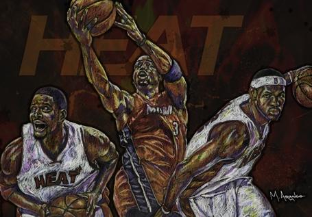 LeBron James par MArango
